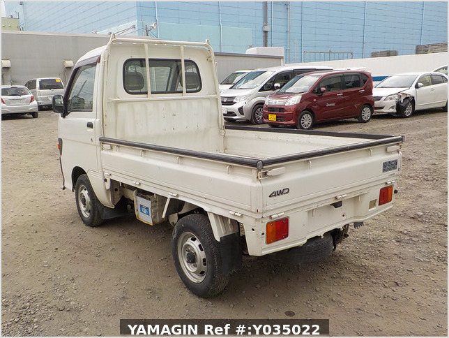 It is a picture of the white daihatsu hijet truck in 1998,Sub Photo 3 Stock No.Y035022