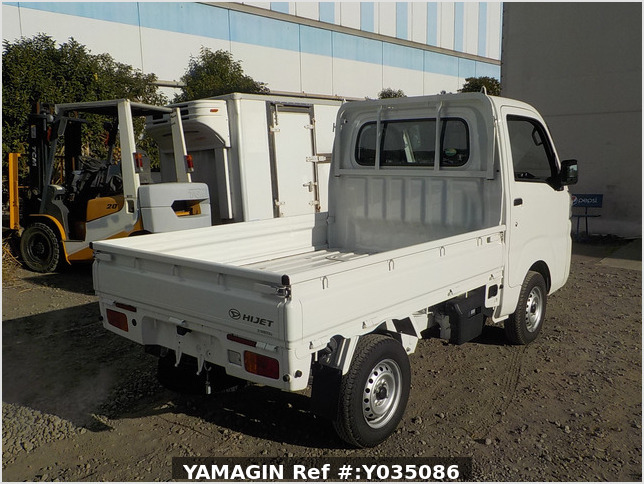 It is a picture of the white daihatsu hijet truck in 2020,Sub Photo 2 Stock No.Y035086