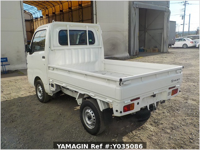It is a picture of the white daihatsu hijet truck in 2020,Sub Photo 3 Stock No.Y035086