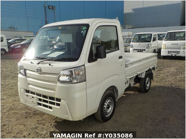 It is a picture of the white daihatsu hijet truck in 2020,Sub Photo 1 Stock No.Y035086