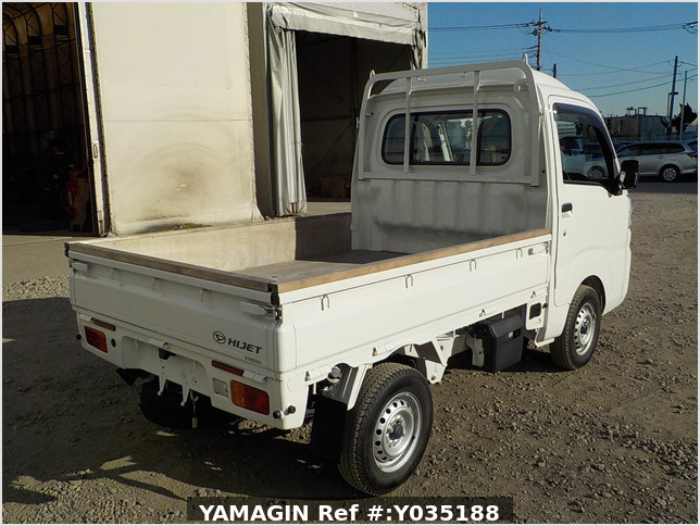 It is a picture of the white daihatsu hijet truck in 2020,Sub Photo 2 Stock No.Y035188