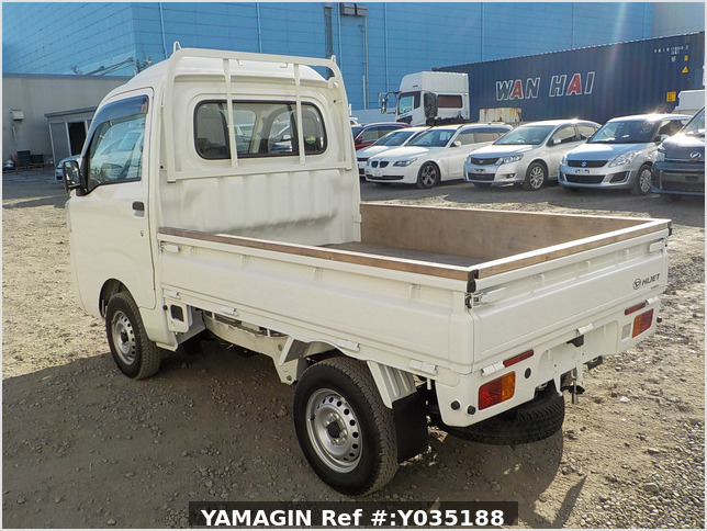 It is a picture of the white daihatsu hijet truck in 2020,Sub Photo 3 Stock No.Y035188