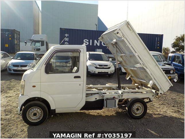 It is a picture of the white suzuki carry dump in 2005,Sub Photo 6 Stock No.Y035197