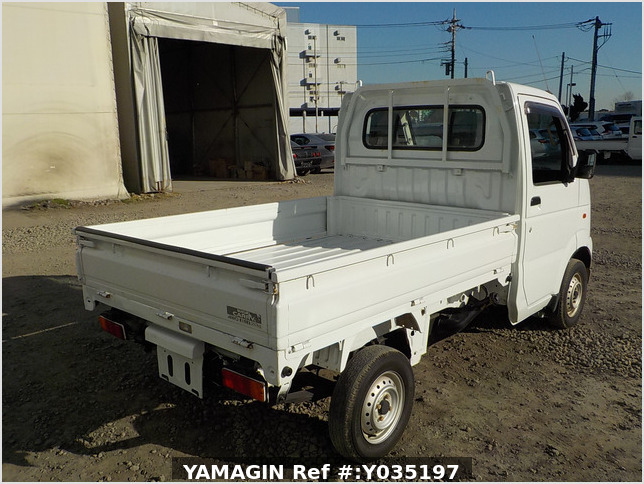 It is a picture of the white suzuki carry dump in 2005,Sub Photo 3 Stock No.Y035197