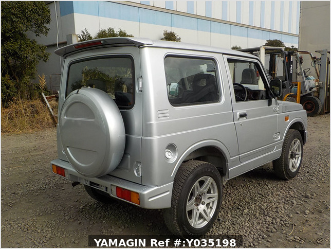 It is a picture of the silver suzuki jimny in 1996,Sub Photo 2 Stock No.Y035198