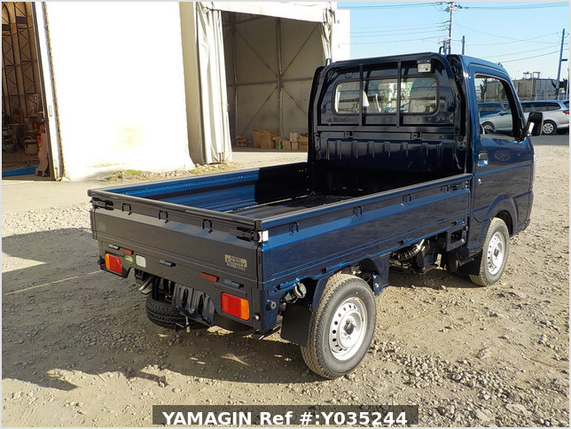 It is a picture of the blue suzuki carry truck in 2020,Sub Photo 2 Stock No.Y035244