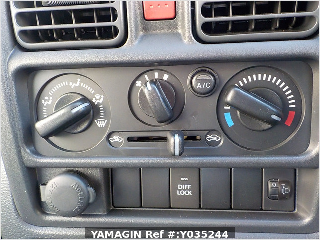 It is a picture of the blue suzuki carry truck in 2020,Sub Photo 7 Stock No.Y035244