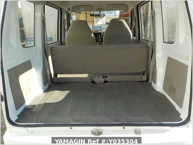 It is a picture of the white suzuki every passenger van in 2007,Sub Photo 4 Stock No.Y035304
