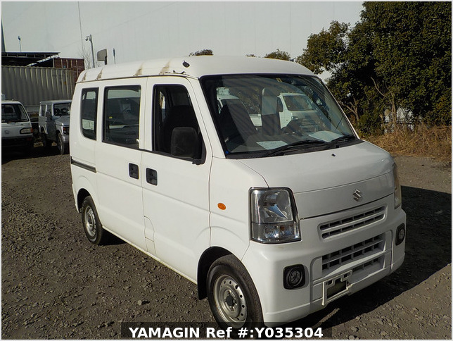It is a picture of the white suzuki every passenger van in 2007,Sub Photo 0 Stock No.Y035304
