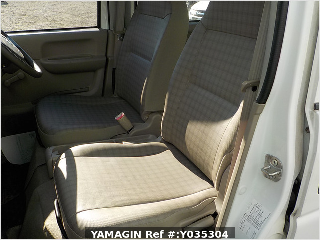 It is a picture of the white suzuki every passenger van in 2007,Sub Photo 5 Stock No.Y035304