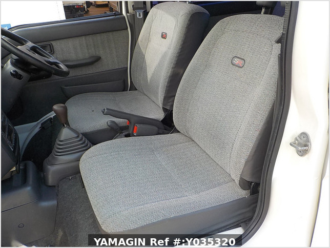 It is a picture of the white daihatsu atrai passenger van in 1995,Sub Photo 8 Stock No.Y035320