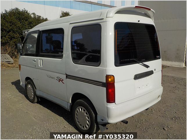 It is a picture of the white daihatsu atrai passenger van in 1995,Sub Photo 3 Stock No.Y035320