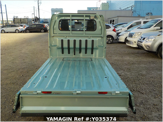 It is a picture of the green suzuki carry  truck in 2018,Sub Photo 4 Stock No.Y035374
