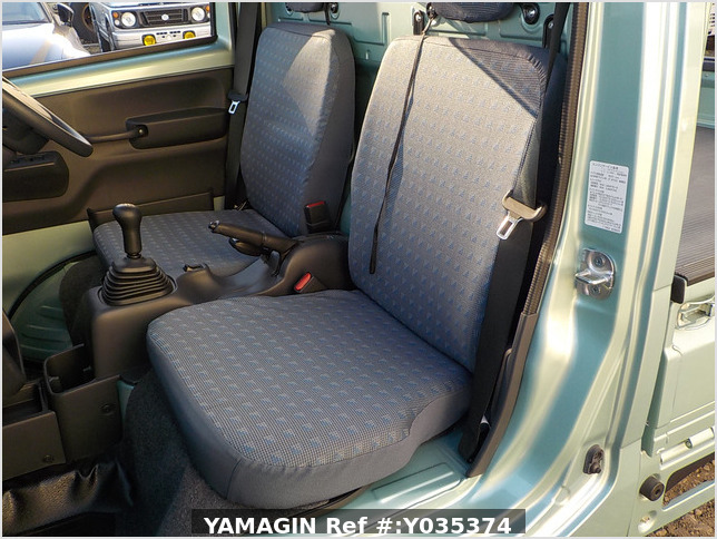 It is a picture of the green suzuki carry  truck in 2018,Sub Photo 12 Stock No.Y035374