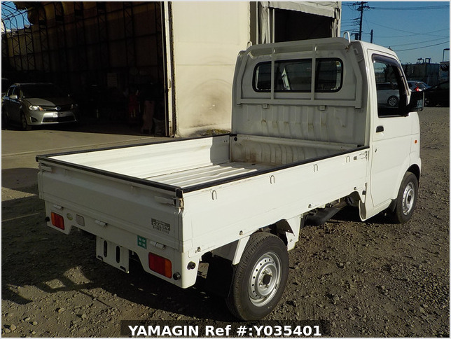It is a picture of the white suzuki carry truck in 2006,Sub Photo 2 Stock No.Y035401