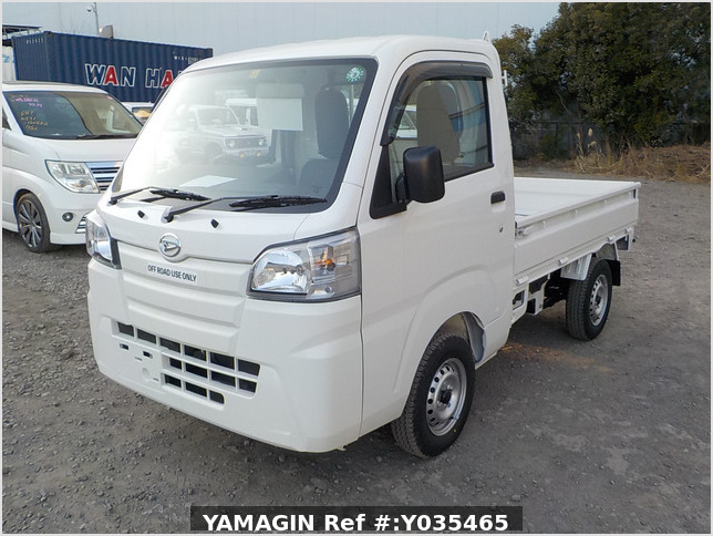 It is a picture of the white daihatsu hijet truck in 2020,Sub Photo 1 Stock No.Y035465