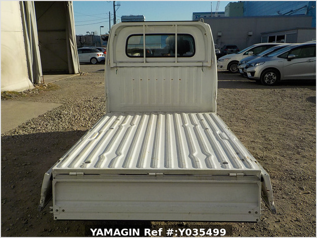 It is a picture of the white mitsubishi minicab truck in 2004,Sub Photo 4 Stock No.Y035499