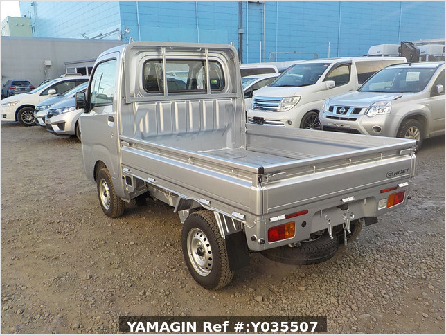 It is a picture of the silver daihatsu hijet truck in 2020,Sub Photo 3 Stock No.Y035507