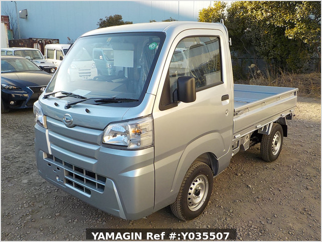 It is a picture of the silver daihatsu hijet truck in 2020,Sub Photo 1 Stock No.Y035507