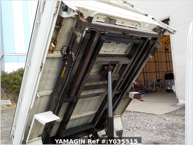 It is a picture of the white daihatsu hijet scissors dump in 2005,Sub Photo 23 Stock No.Y035515