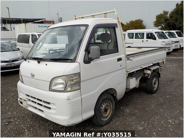 It is a picture of the white daihatsu hijet scissors dump in 2005,Sub Photo 2 Stock No.Y035515