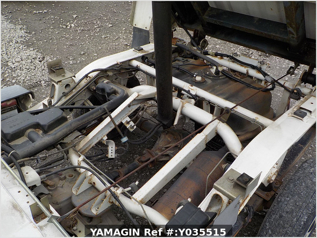 It is a picture of the white daihatsu hijet scissors dump in 2005,Sub Photo 22 Stock No.Y035515