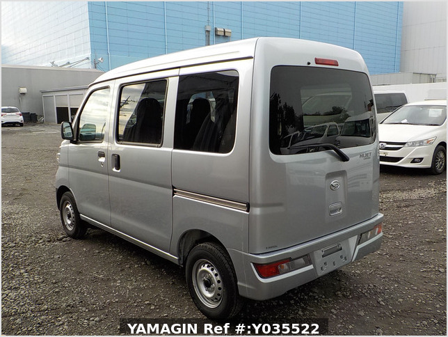 It is a picture of the silver daihatsu hijet passenger van in 2020,Sub Photo 3 Stock No.Y035522