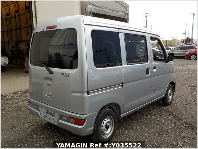 It is a picture of the silver daihatsu hijet passenger van in 2020,Sub Photo 2 Stock No.Y035522