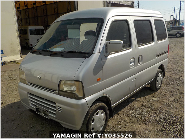 It is a picture of the silver suzuki every passenger van in 2004,Sub Photo 1 Stock No.Y035526