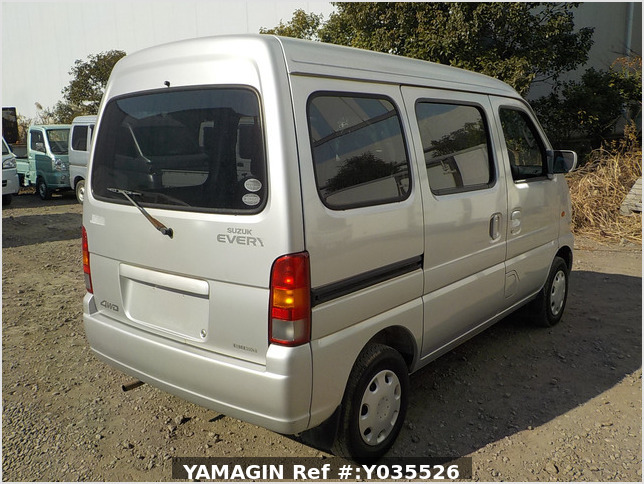 It is a picture of the silver suzuki every passenger van in 2004,Sub Photo 2 Stock No.Y035526