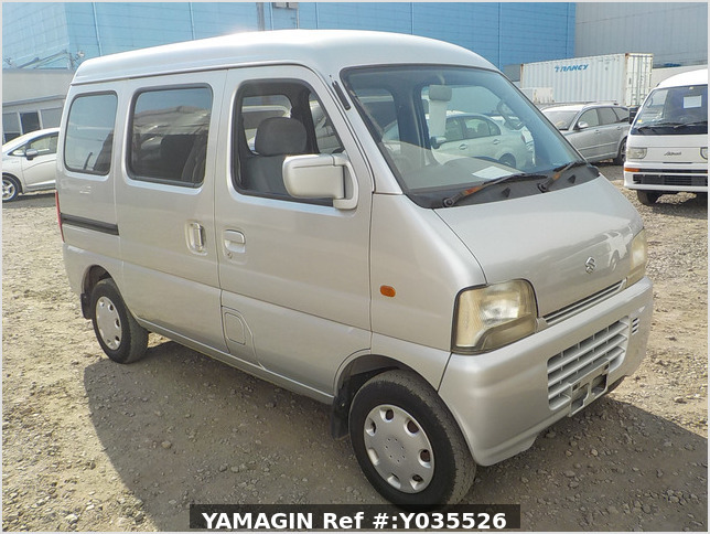 It is a picture of the silver suzuki every passenger van in 2004,Sub Photo 0 Stock No.Y035526