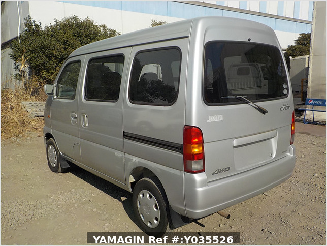 It is a picture of the silver suzuki every passenger van in 2004,Sub Photo 3 Stock No.Y035526