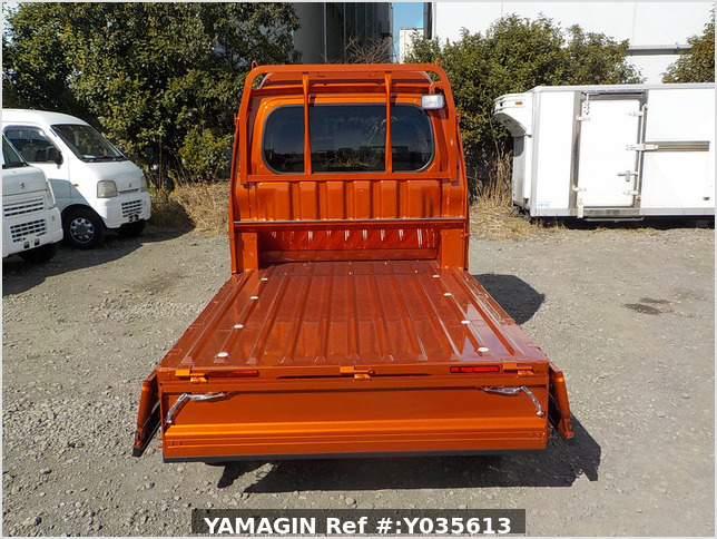 It is a picture of the orange daihatsu hijet jumbo in 2021,Sub Photo 4 Stock No.Y035613