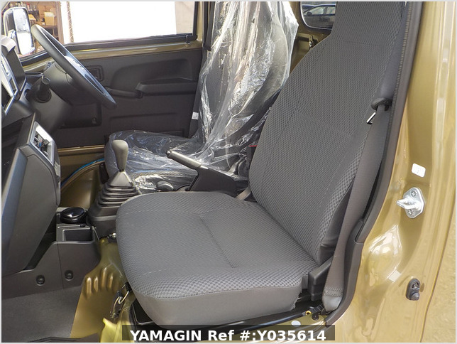 It is a picture of the khaki daihatsu hijet jumbo in 2021,Sub Photo 9 Stock No.Y035614