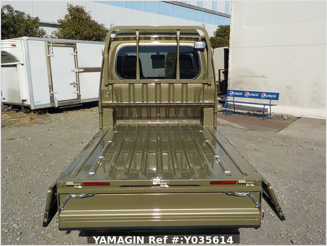 It is a picture of the khaki daihatsu hijet jumbo in 2021,Sub Photo 4 Stock No.Y035614