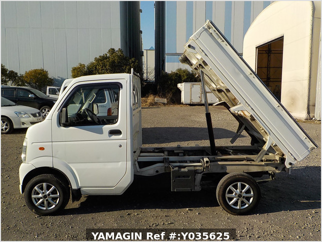 It is a picture of the white suzuki carry dump in 2010,Sub Photo 8 Stock No.Y035625