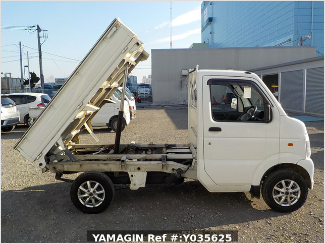 It is a picture of the white suzuki carry dump in 2010,Sub Photo 0 Stock No.Y035625