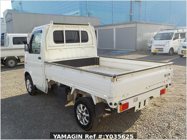 It is a picture of the white suzuki carry dump in 2010,Sub Photo 4 Stock No.Y035625
