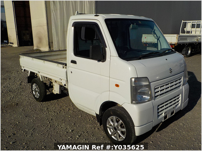 It is a picture of the white suzuki carry dump in 2010,Sub Photo 1 Stock No.Y035625