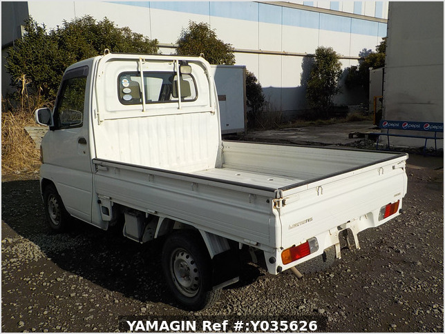 It is a picture of the white mitsubishi minicab truck in 2005,Sub Photo 3 Stock No.Y035626