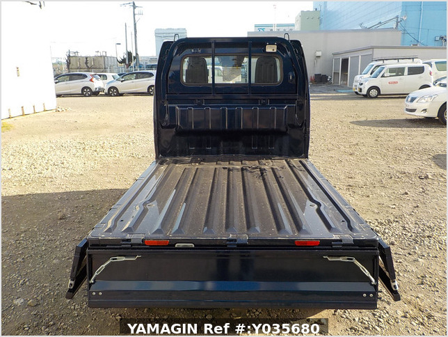 It is a picture of the dark blue suzuki carry truck in 2019,Sub Photo 4 Stock No.Y035680
