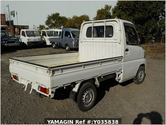 It is a picture of the white nissan clipper truck in 2004,Sub Photo 2 Stock No.Y035838