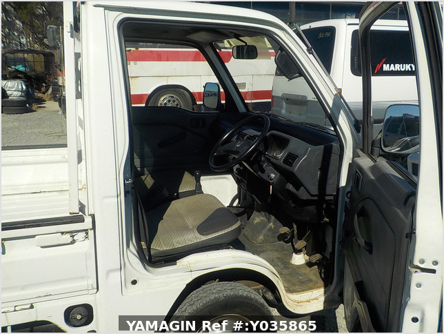 It is a picture of the white honda acty  truck in 1992,Sub Photo 8 Stock No.Y035865