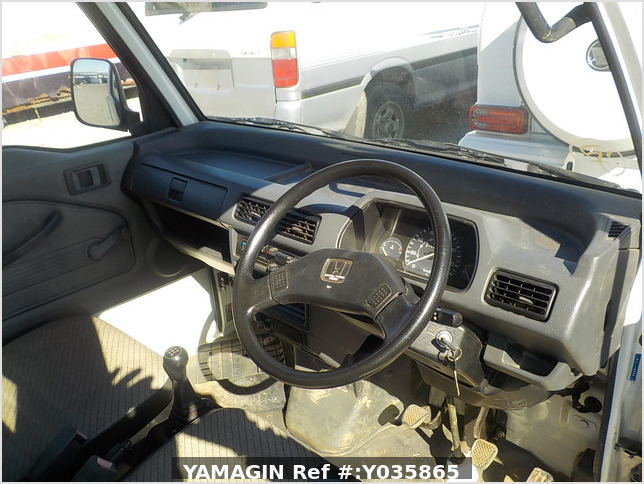 It is a picture of the white honda acty  truck in 1992,Sub Photo 7 Stock No.Y035865