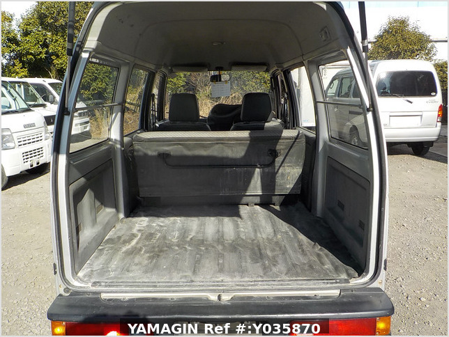 It is a picture of the silver honda acty passenger van in 1993,Sub Photo 4 Stock No.Y035870