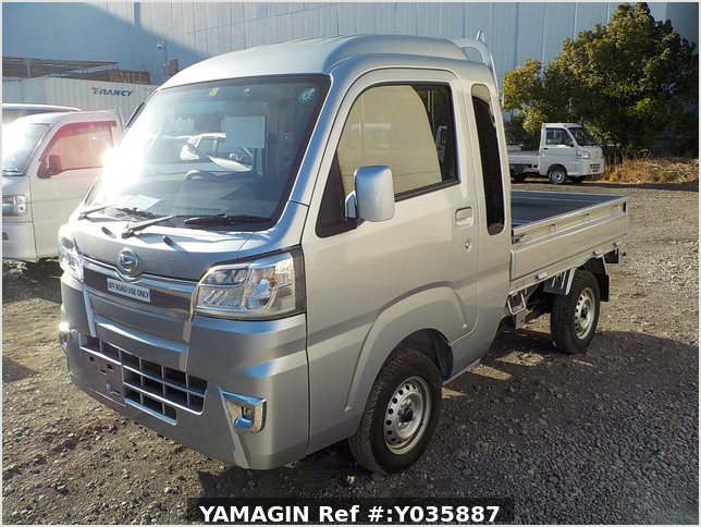 It is a picture of the silver daihatsu hijet jumbo in 2020,Sub Photo 1 Stock No.Y035887