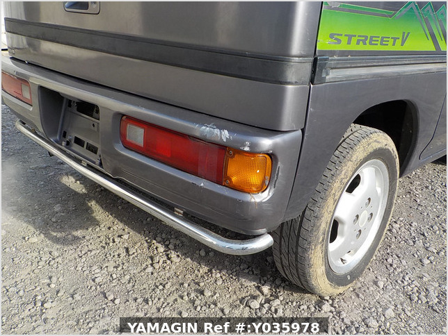 It is a picture of the grey honda acty passenger van in 1996,Sub Photo 16 Stock No.Y035978