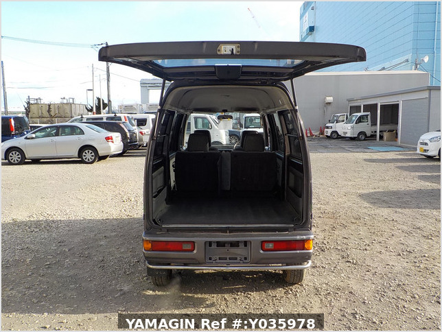 It is a picture of the grey honda acty passenger van in 1996,Sub Photo 5 Stock No.Y035978