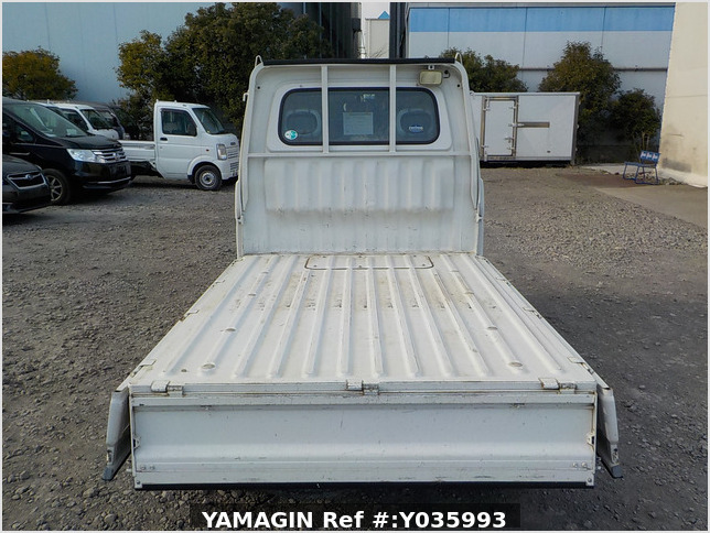 It is a picture of the white daihatsu hijet truck in 2003,Sub Photo 4 Stock No.Y035993