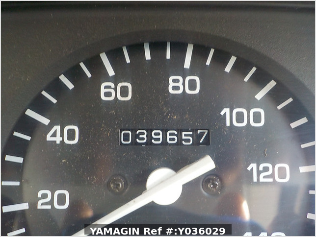 It is a picture of the white daihatsu hijet truck in 2003,Sub Photo 6 Stock No.Y036029